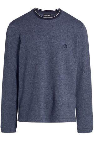 Armani Solid Crewneck T-Shirt