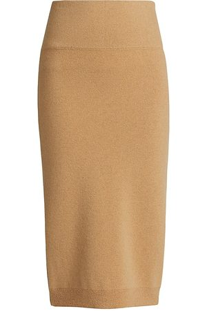 Saks Fifth Avenue COLLECTION: Cashmere Pencil Skirt