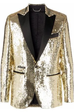 Philipp Plein Men Blazers - Lord pailette-embellished blazer
