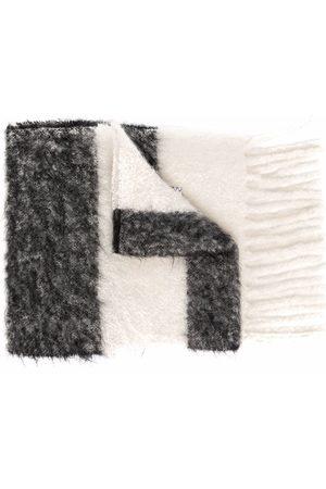 Marni Women Scarves - Striped knit scarf
