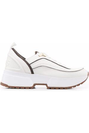 Michael Kors Women Sneakers - Chaplin mixed-media sneakers