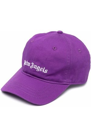 Palm Angels Kids Logo-embroidered cap