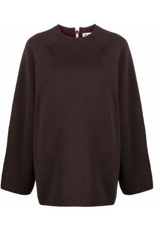 SUNNEI Zip-detail knitted jumper