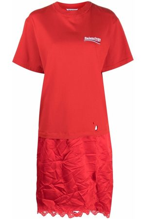 Balenciaga Women Casual Dresses - T-shirt slip dress