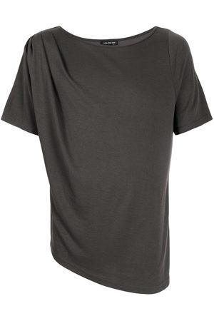 Lisa von Tang Men Short Sleeve - Asymmetric short-sleeve T-shirt - Grey
