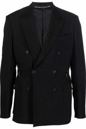 John Richmond Men Blazers - Belted blazer jacket