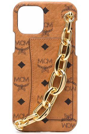 MCM Phones Cases - Visetos chain-trim iPhone 12 case
