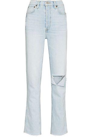RE/DONE Women Slim - 80s Comfort Stretch Slim Straight jeans