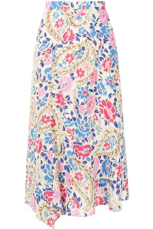 Isabel Marant Women Printed Skirts - Cacia floral-print skirt - Multicolour