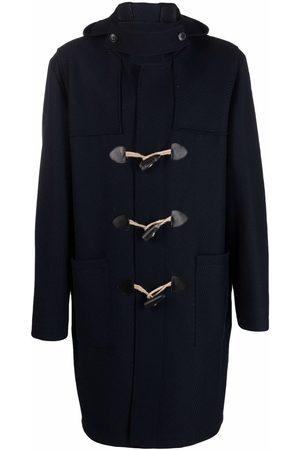 GABRIELE PASINI Men Duffle Coat - Hooded midi duffle coat