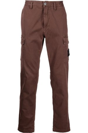 Stone Island Compass patch cargo trousers
