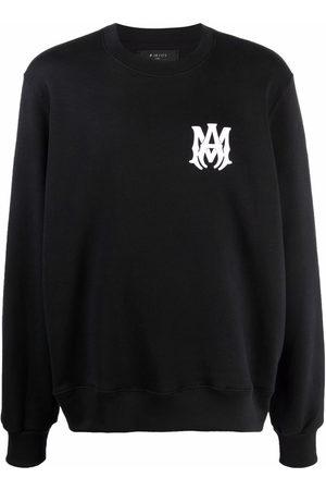 AMIRI Logo-print long-sleeve cotton sweatshirt