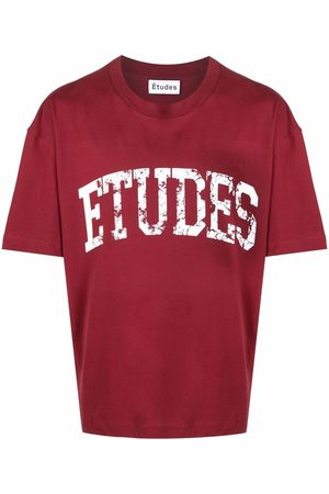 Etudes Logo-print short-sleeved T-shirt