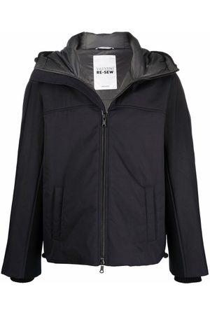 VALENTINO Men Puffer Jackets - Panelled padded jacket