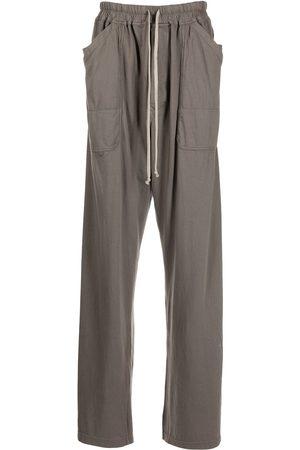 Rick Owens Men Wide Leg Pants - Oversize wide-leg track pants