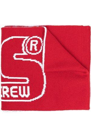 GCDS Scarves - Logo knit scarf