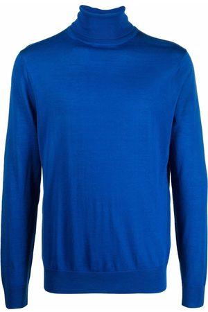 Paul Smith Men Turtlenecks - Fine-knit roll-neck jumper