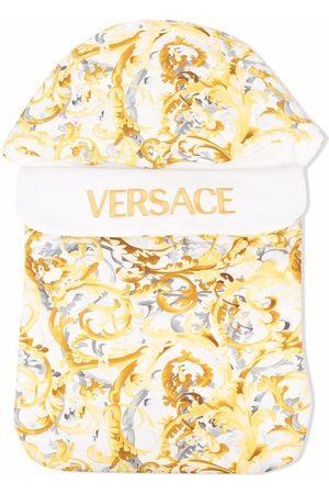 VERSACE Baroccoflage-print sleeping bag