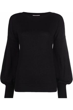 SNOBBY SHEEP Bell sleeve silk-cashmere jumper