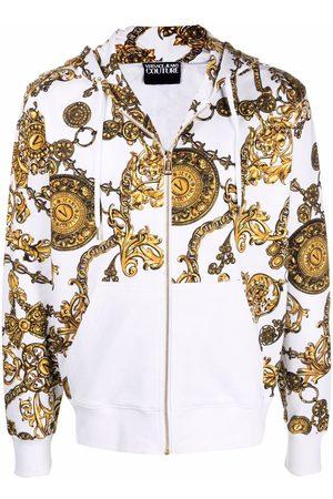 VERSACE Baroque-print hoodie