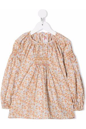 BONPOINT Floral print blouse - Neutrals