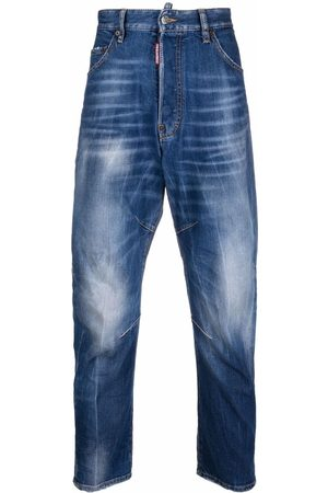 Dsquared2 Mid-rise tapered jeans