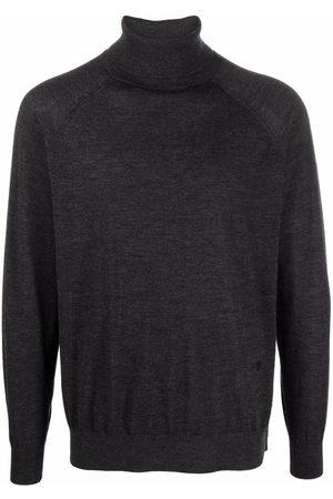 Nanushka Men Turtlenecks - Roll-neck knitted merino jumper - Grey