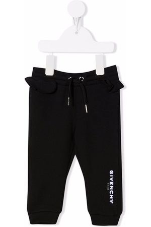 Givenchy Ruffle track trousers
