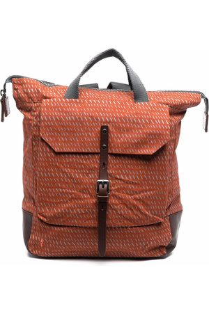 ALLY CAPELLINO Logo-embroidered backpack