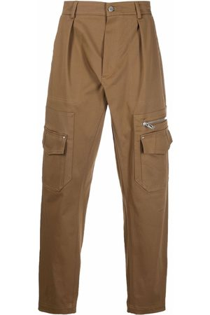 Les Hommes Cargo-pocket loose trousers