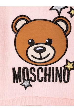 Moschino Glitter star sweatshirt dress