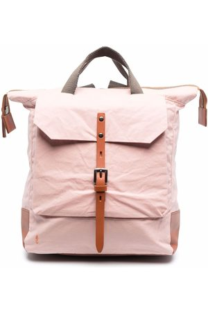 ALLY CAPELLINO Rucksacks - Colour-block buckle backpack