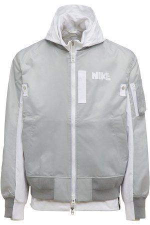 Nike Sacai Layered Bomber Jacket