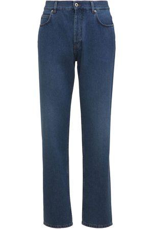 Loewe Tapered Cotton Denim Jeans