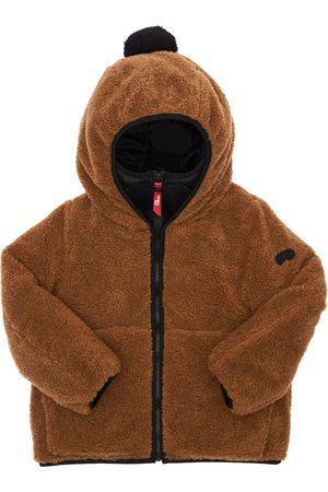 AI RIDERS Girls Fleece Jackets - Hooded Primaloft Teddy Jacket