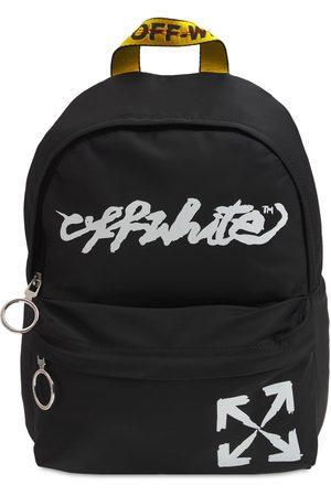 OFF-WHITE KIDS Girls Rucksacks - Logo Print Nylon Backpack