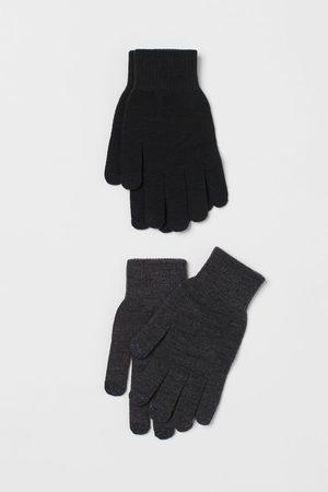 H&M Men Gloves - 2-pack touchscreen gloves