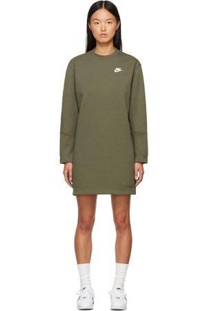 Nike Women Skirts & Dresses - Green Sportswear Tech Fleece Dress