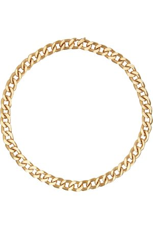 Maison Margiela Men Necklaces - Gold Semi-Polished Necklace