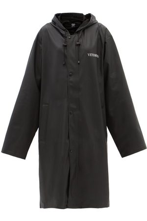 Vetements Fashion Is My Profession Raincoat - Womens