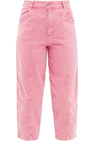See by Chloé Women High Waisted - Cropped High-rise Straight-leg Jeans - Womens - Mid