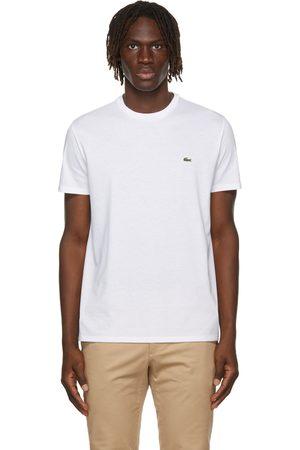 Lacoste Men T-shirts - White Pima Cotton T-Shirt