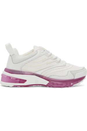 Givenchy Women Sneakers - White & Pink Giv 1 Sneakers