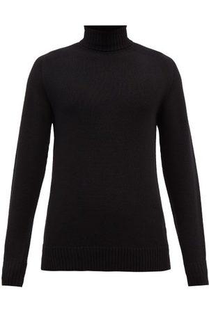 Officine Générale Roll-neck Wool-blend Sweater - Mens