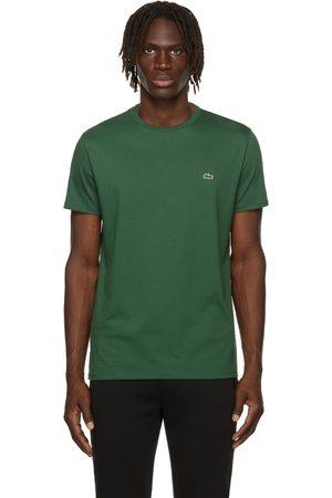 Lacoste Green Pima Cotton T-Shirt
