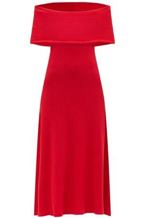 Mara Hoffman Women Strapless Dresses - Imogen Off-the-shoulder Midi Dress - Womens