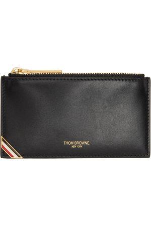 Thom Browne Women Wallets - Stripe Corner Zippered Wallet