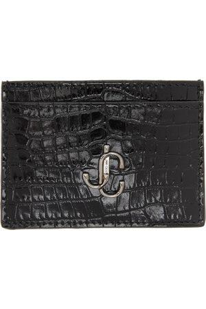 Jimmy Choo Women Wallets - Croc Umika Card Holder