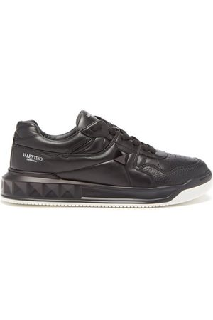 Valentino Garavani One Stud Quilted Leather Trainers - Mens