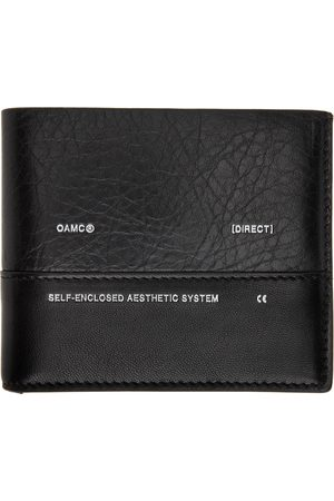 OAMC Men Wallets - Black Medi Bifold Wallet